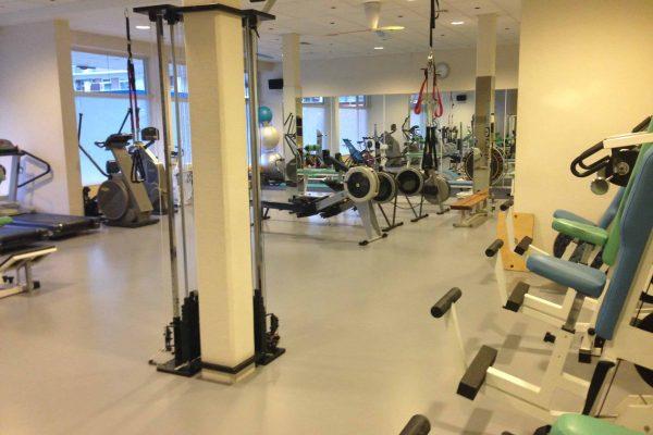 schoonmaak sportschool life in motion